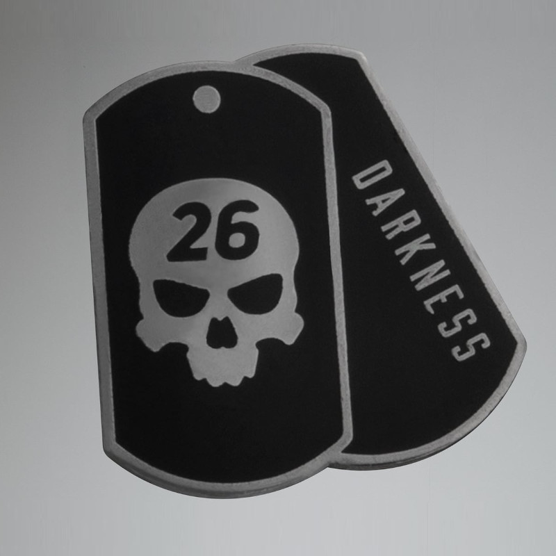 PXG Darkness Dog Tag Ball Marker